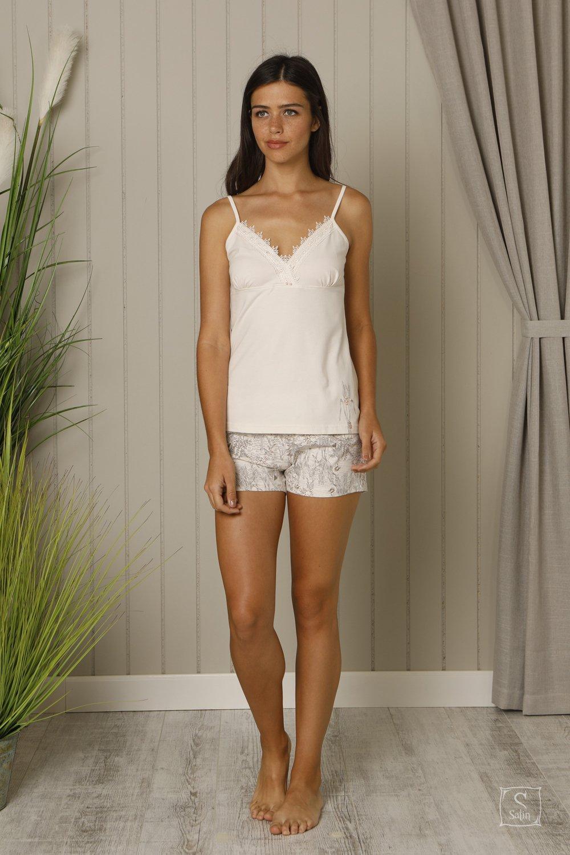 07d8bef206c5495 Купить Пижама женская майка с шортами Hays. Модель 18600 — лучшая ...