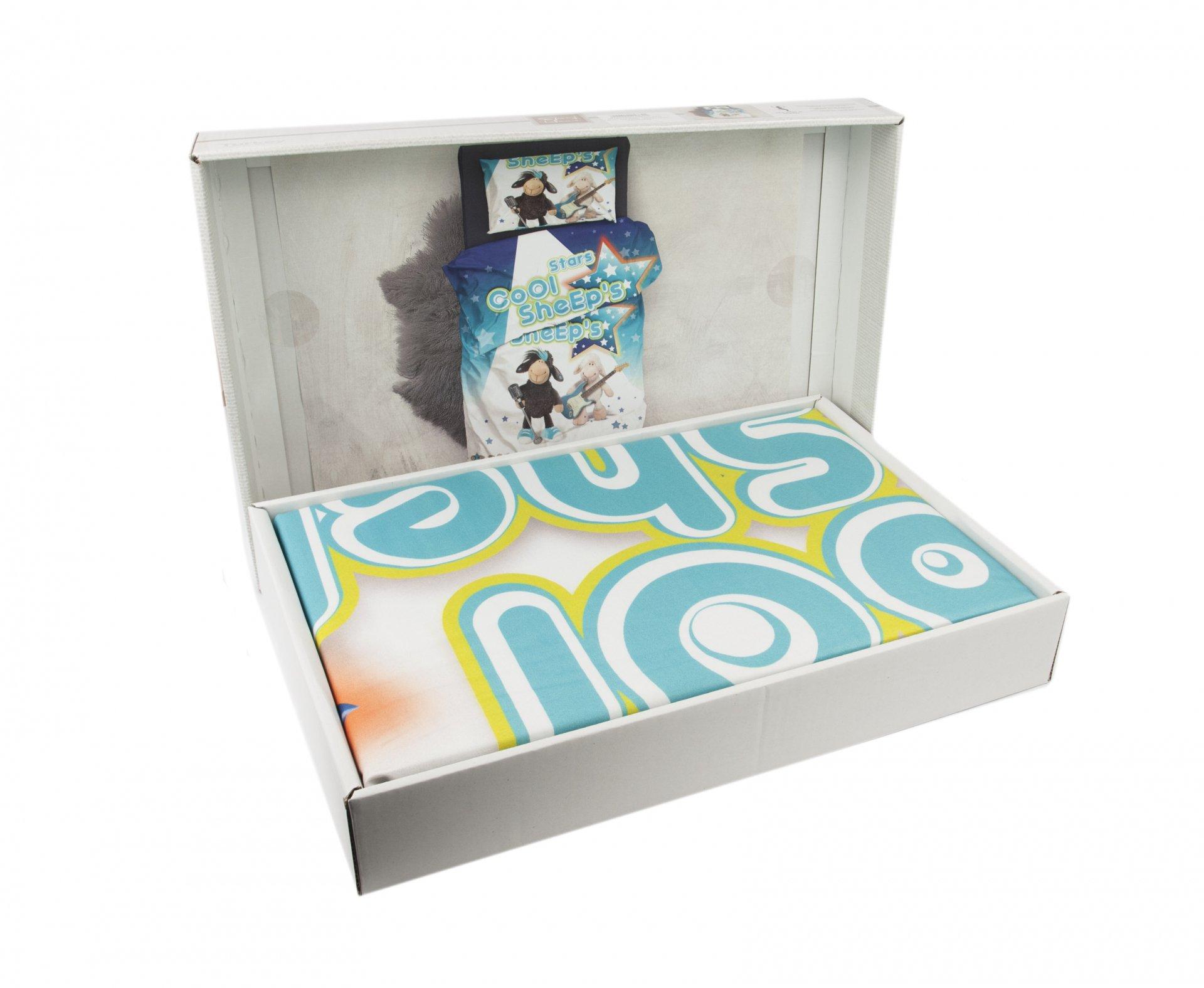 3D MICRO SATIN SHEEPS MAVI комплект Детское постельное белье EPONJ HOME. 3D  MICRO SATIN SHEEPS MAVI упаковка ... b4cf4a5d1c3b3