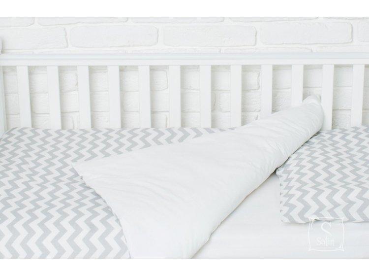 Постельное белье в детскую кроватку Elfdreams. Зигзаг