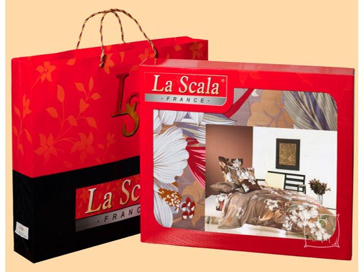 Постельное белье LaScala. AB-163 сатин-фотопринт