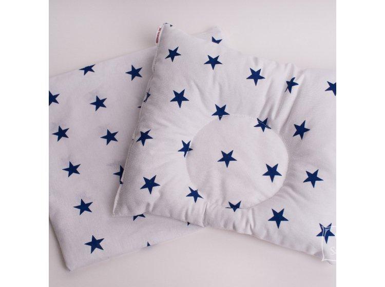 Подушка ортопедическая для младенцев Elfdreams. Звездное небо с наволочкой