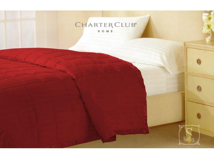Покрывало стеганное Charter Club красное, размер 229х234 см