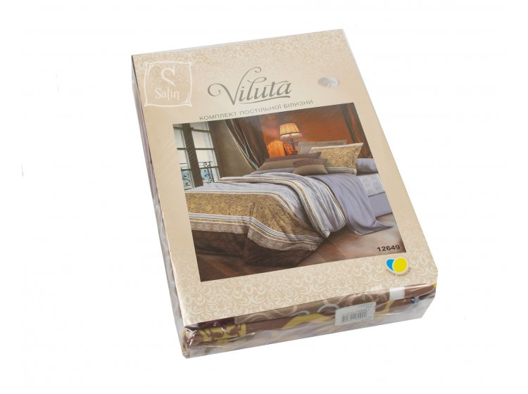 Постельное белье Viluta. Платинум 12649  упаковка