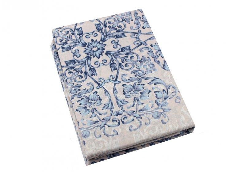 Постельное белье Viluta. Платинум 12657 голубой простынь