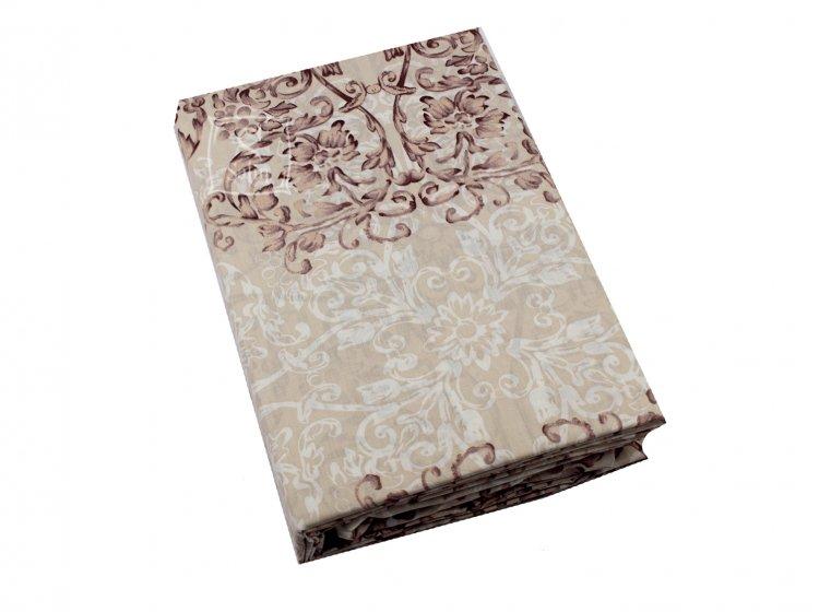 Постельное белье Viluta. Платинум 12657 коричневый простынь