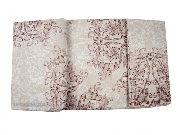 Постельное белье Viluta. Платинум 12657 коричневый комплект