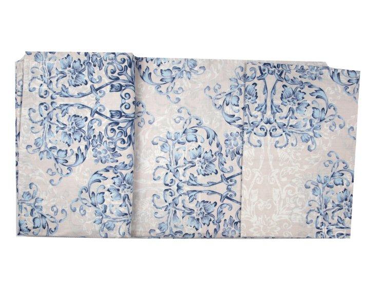 Постельное белье Viluta. Платинум 12657 голубой комплект