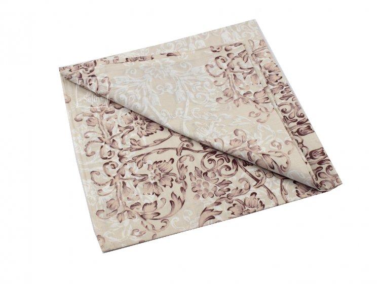 Постельное белье Viluta. Платинум 12657 коричневый наволочка