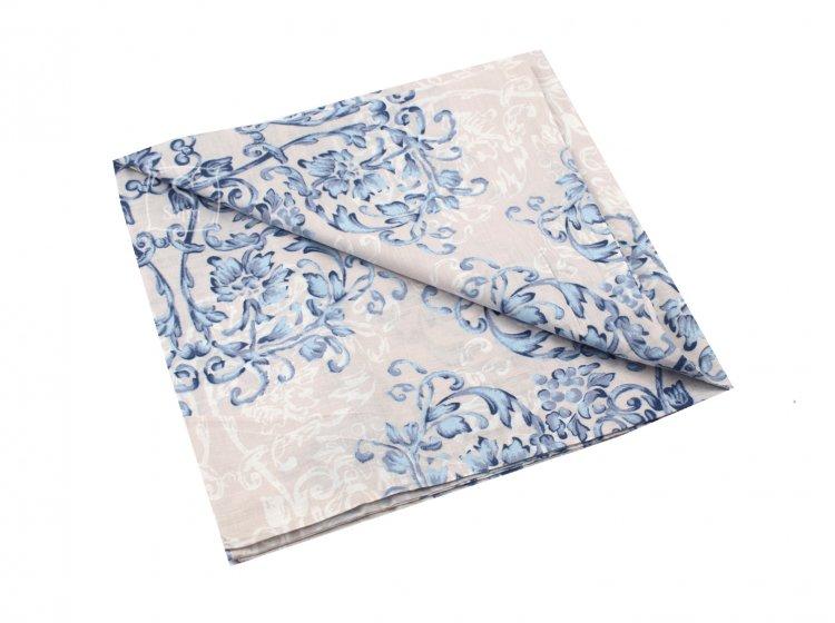 Постельное белье Viluta. Платинум 12657 голубой наволочка