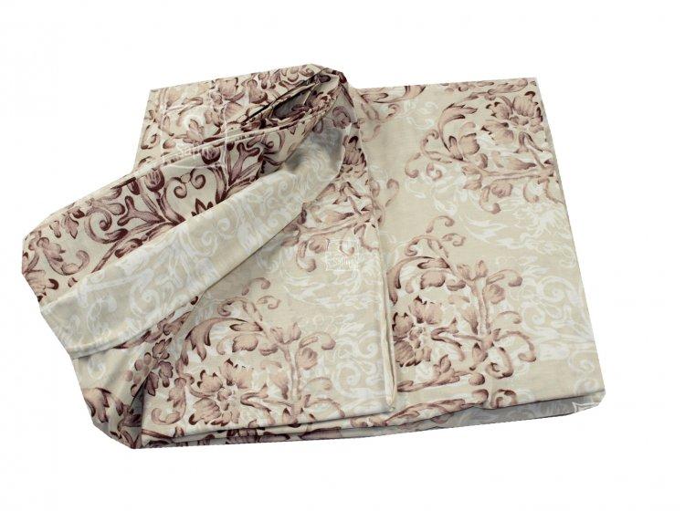 Постельное белье Viluta. Платинум 12657 коричневый пододеяльник