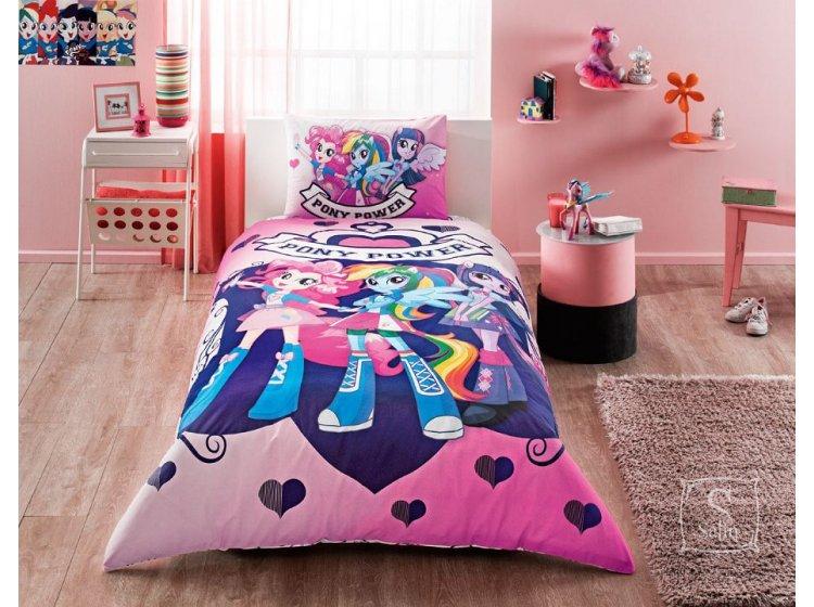 Детское постельное белье TAC. Equestria Girls Pony Power