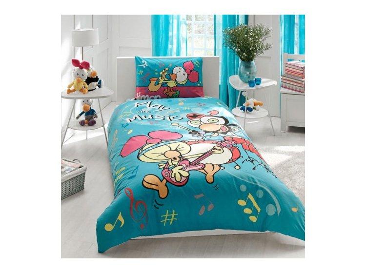 Купить Детское постельное белье TAC. Sirinler Music — лучшая цена в ... cf449b7db0be3