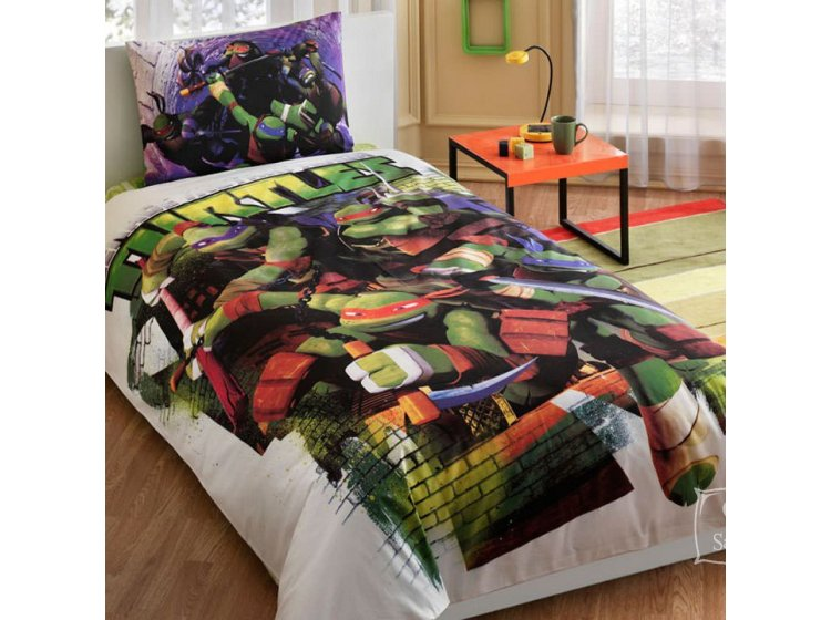 Детское постельное белье TAC. Ninja Turtles