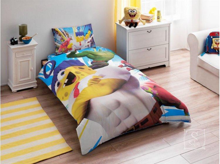 Детское постельное белье TAC. Sponge Bob Movie