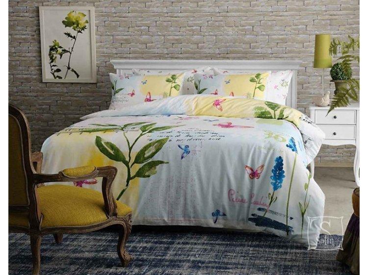 Постельное белье Pierre Cardin. Juana V01, зеленого цвета