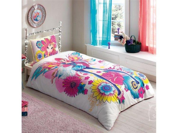 Детское постельное белье TAC. Winx Magic Bloom