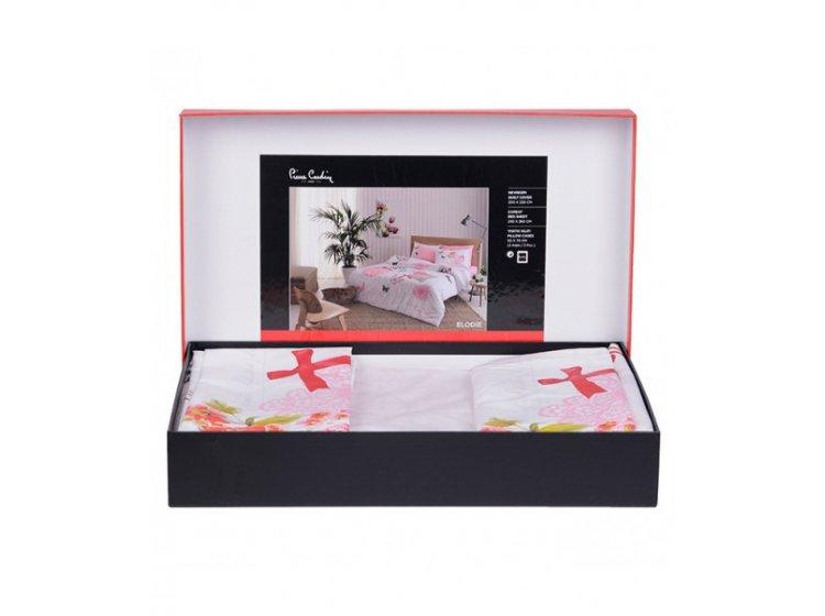 Постельное белье Pierre Cardin. Elodie V01, розового цвета упаковка