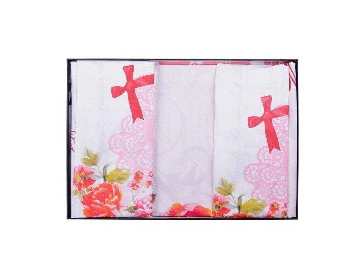 Постельное белье Pierre Cardin. Elodie V01, розового цвета