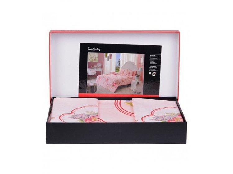Постельное белье Pierre Cardin. Chelsy V01, розового цвета упаковка