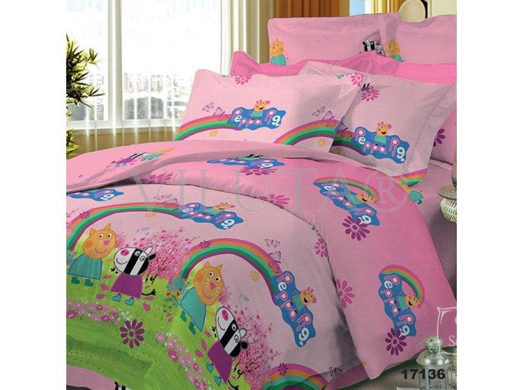 Детское постельное белье Viluta. Свинка Пеппа 17136 (57)