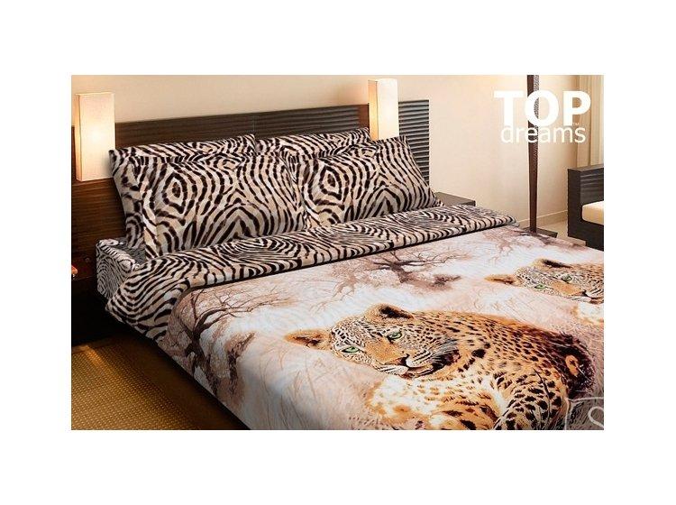 Постельное белье Top Dreams. Леопарды