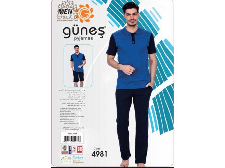 Пижама мужская GUNES. 4981