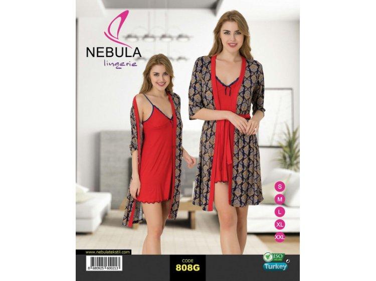 Ночная рубашка и халат Nebula. 808G