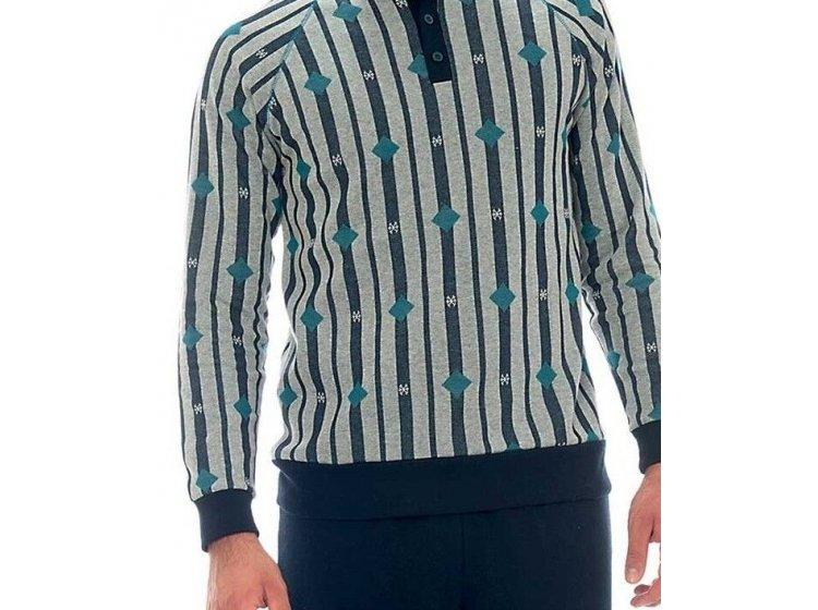 Пижама с брюками мужская Jokami. Felix серая