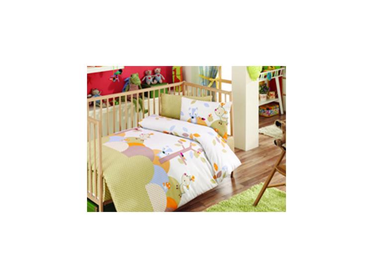 Постельное белье в детскую кроватку Best Class. Сказочный лес