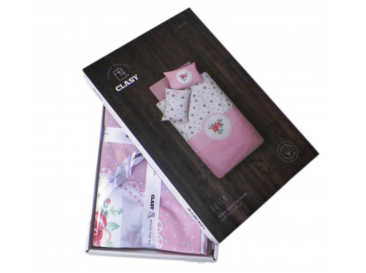 Постельное белье в детскую кроватку Aran Clasy. Rosen упаковка