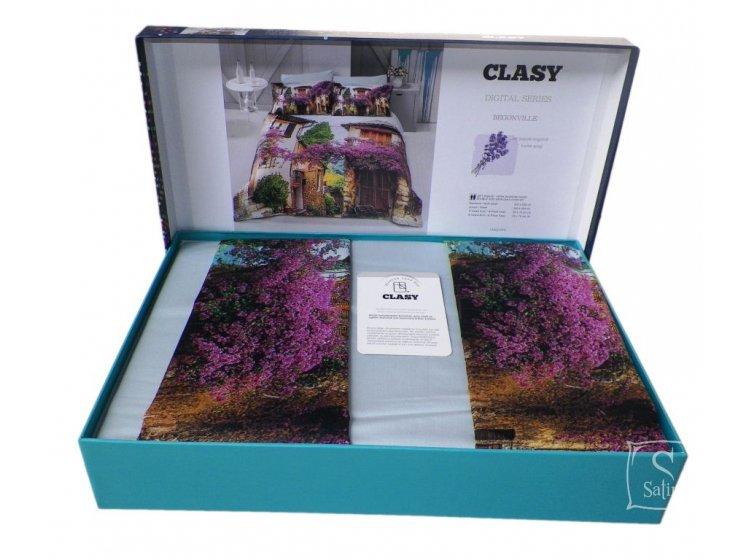 Постельное белье Aran Clasy. Sateen Digital Series Begonville упаковка