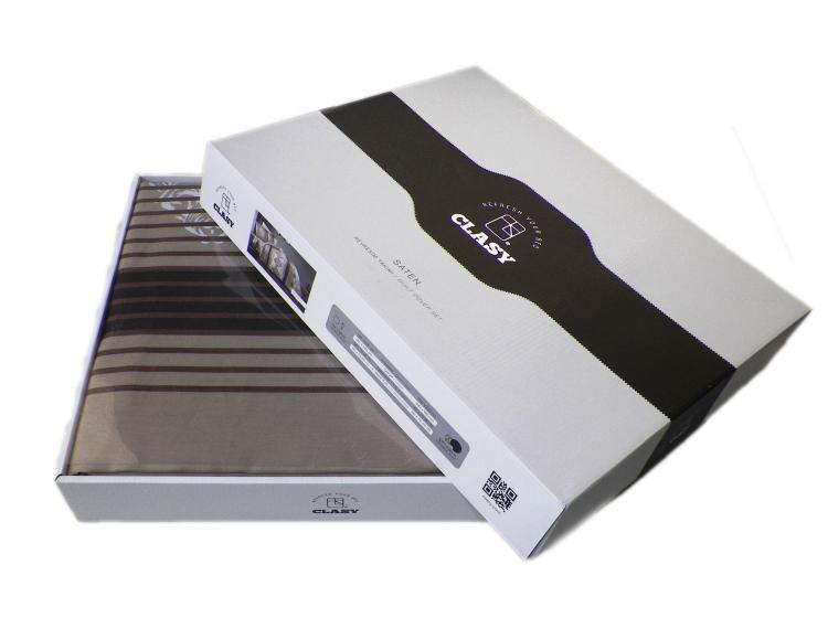 Постельное белье Aran Clasy. Sateen Garnet V2 упаковка