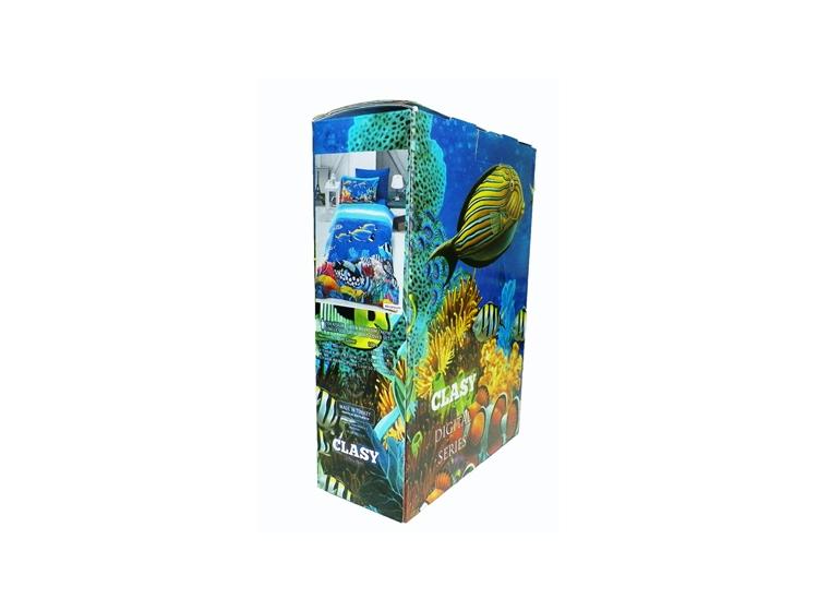Детское постельное белье Aran Clasy. Sateen Digital Series Akvarium упаковка