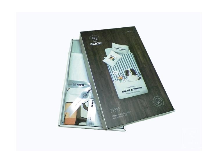 Постельное белье в детскую кроватку Aran Clasy упаковка