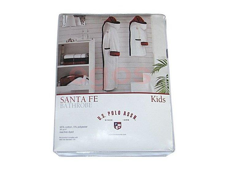 Халат детский хлопковый U.S. Polo Assn. Santa Fe упаковка