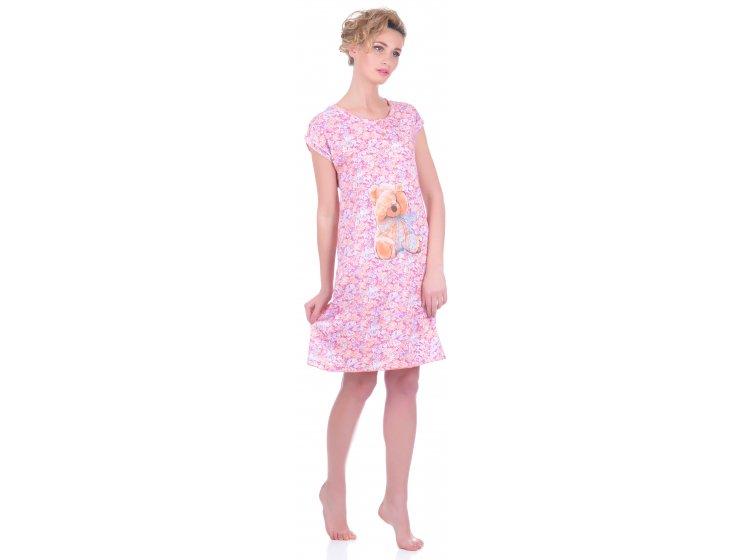 Ночная сорочка Miss First. Calendula розовый