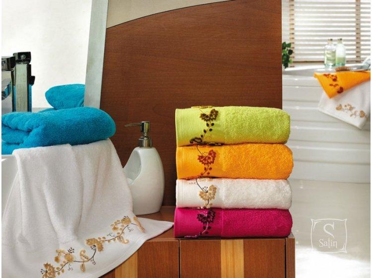 Полотенце махровое Altinbasak. Elara кремового цвета в ассортименте