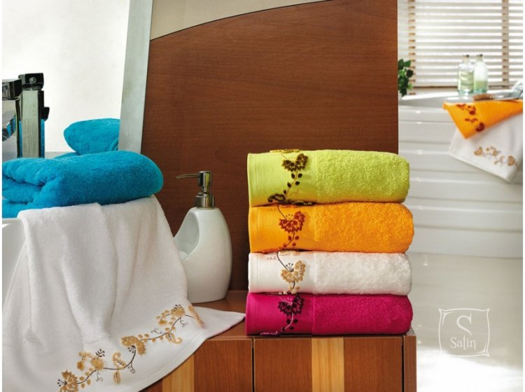 Полотенце махровое Altinbasak. Elara фисташкового цвета в ассортименте