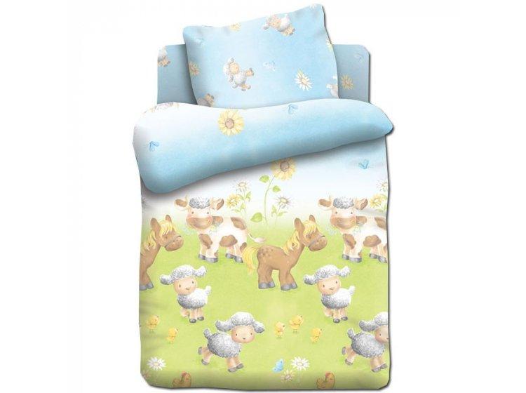Детское постельное белье Непоседа. Овечки на лугу