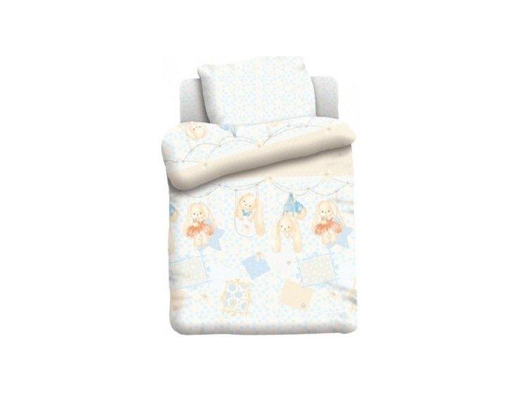 Постельное белье в детскую кроватку Непоседа. Зайки 2