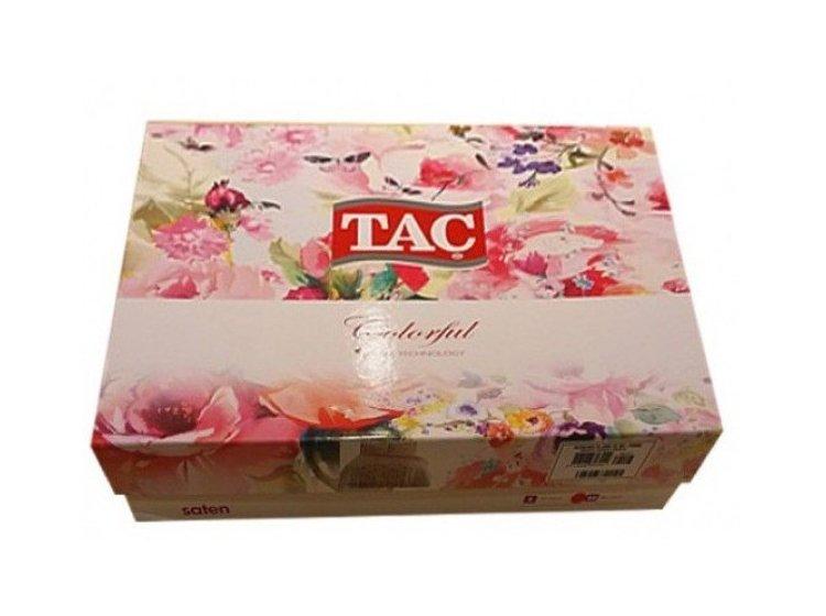 Постельное белье TAC. Digital Botanic pembe упаковка