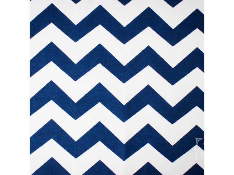 Постельное белье в детскую кроватку Elfdreams. Синяя волна образец ткани
