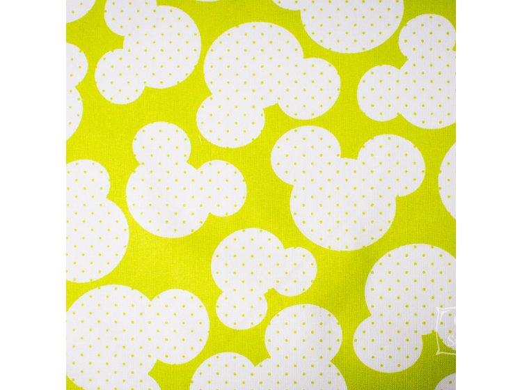 Постельное белье в детскую кроватку Elfdreams. Микки Маус образец ткани
