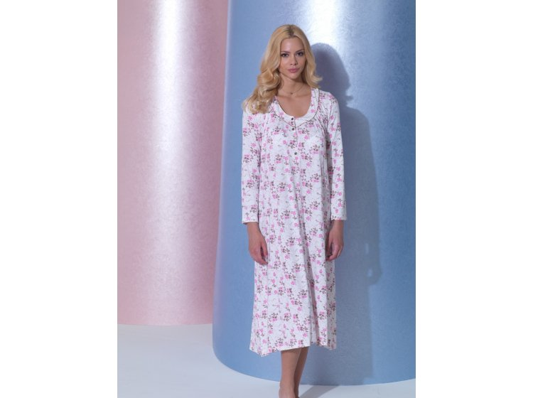 Платье для сна Mariposa. Модель 3174 розового цвета