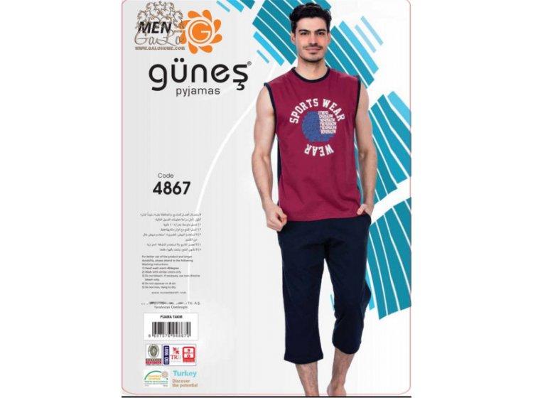 Пижама мужская GUNES. 4867