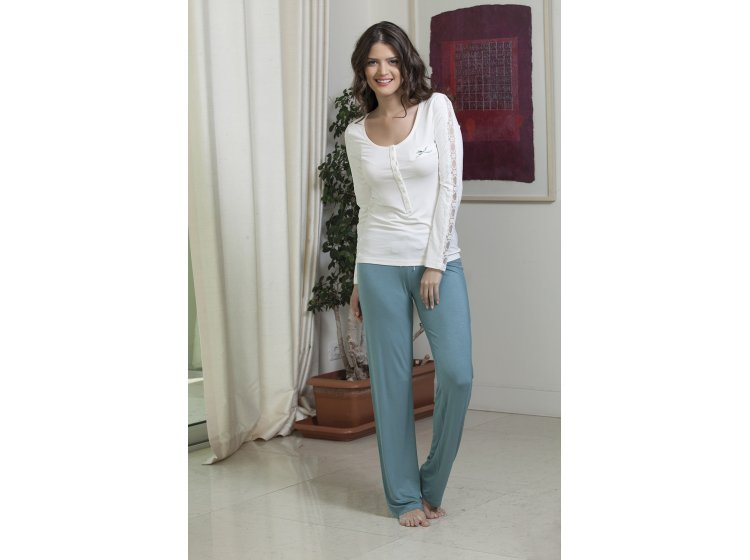Пижама Hays, модель 4138 бирюзового цвета