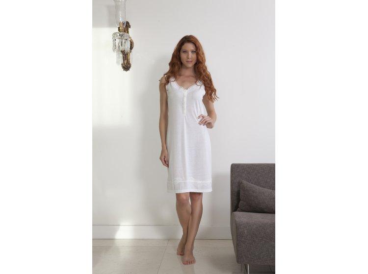 Ночная рубашка Hays, модель 4147 кремового цвета