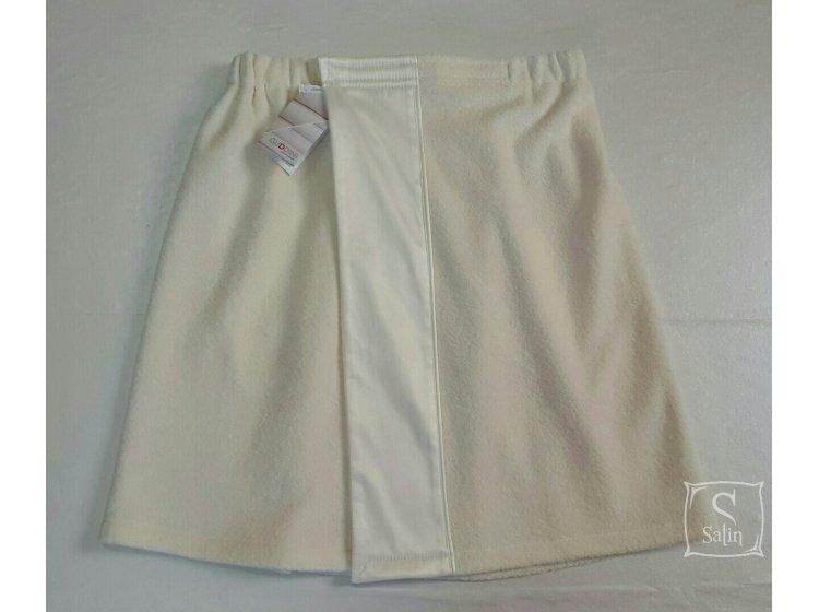 Юбка-килт банная мужская Guddini. AMADEO кремовая