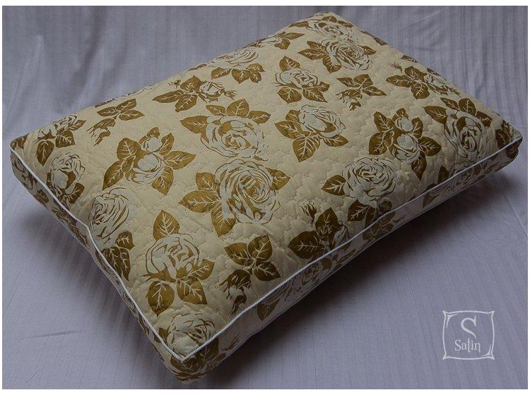 Подушка Lotus. Complete Tencel тик бежевый, эвкалиптовое волокно, размер 50х70 см