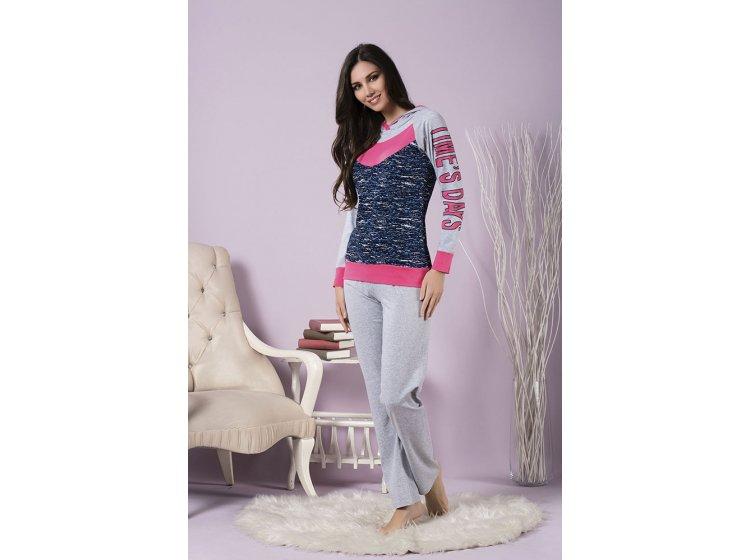 Женский домашний костюм пижама Sexen. 63135